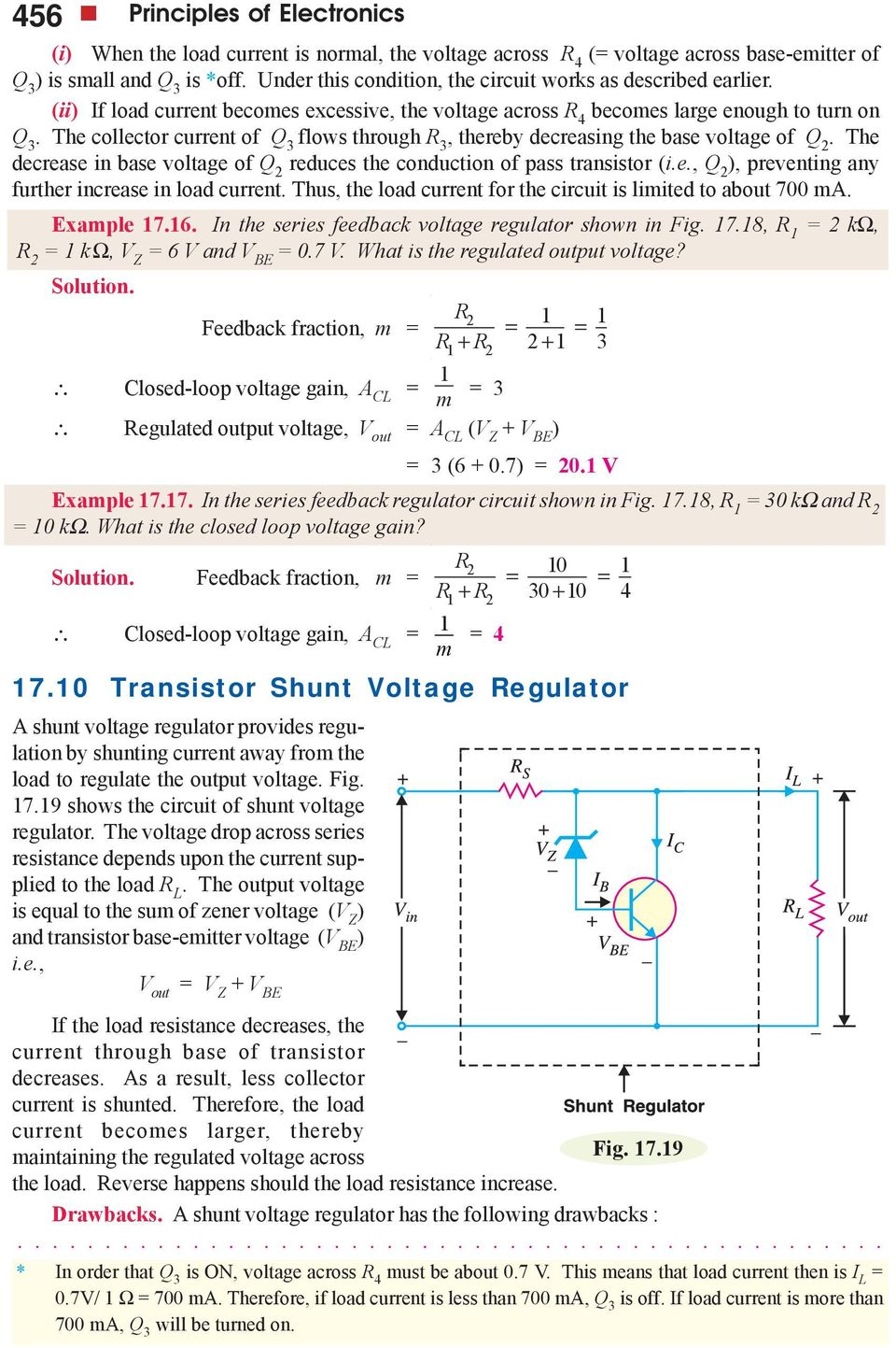 Regulated Dc Power Supply Pdf Current Output Multiplier For 78xx Regulator The Collector Of Q 3 Flows Through R Thereby Decreasing Base Voltage