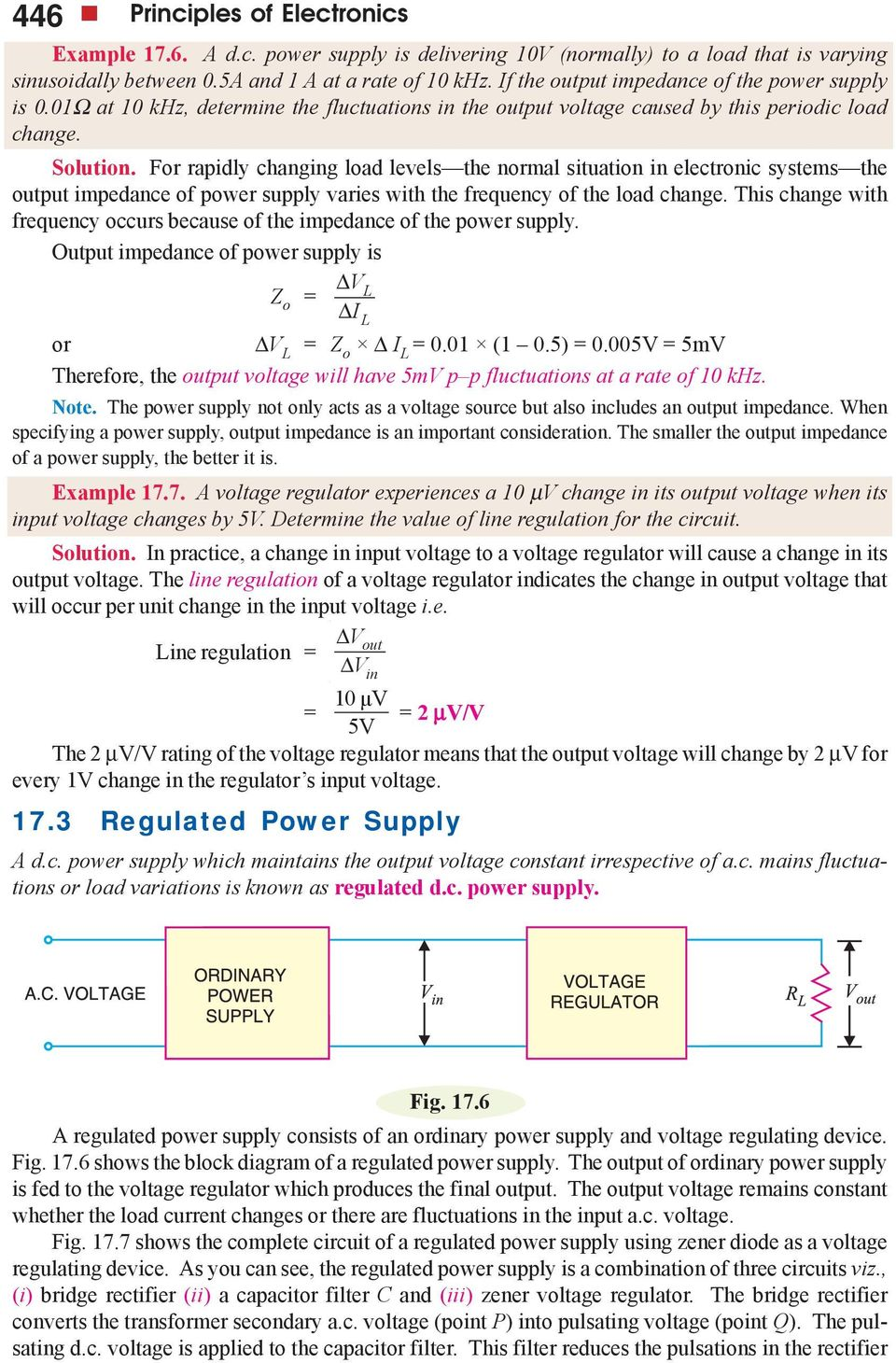 Regulated Dc Power Supply Pdf 3a Adjustable Regulator Using Lm350 Electronic Circuits And For Rapidly Changing Load Levels The Normal Situation In Systems Output Impedance Of