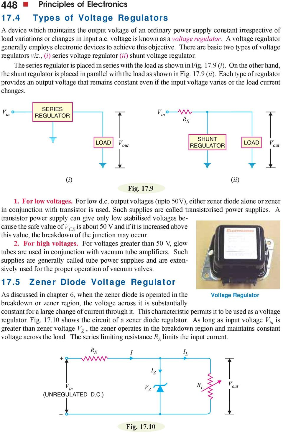 Regulated Dc Power Supply Pdf Current Output Multiplier For 78xx Regulator The Series Is Placed In With Load As Shown Fig 179