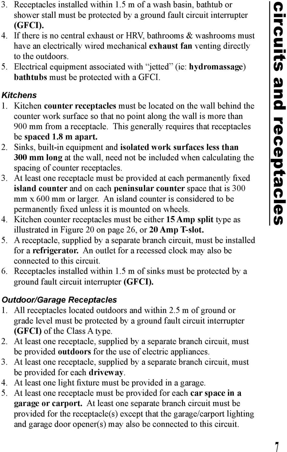 Electrical Installations A Homeowner Guide To The Winnipeg Gfci Kitchen Wiring Diagram Free Download Diagrams Pictures Equipment Associated With Jetted Ie Hydromassage Bathtubs Must Be Protected