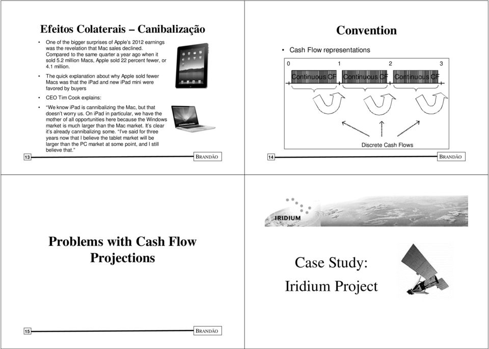 projected college cash flow analysis excel