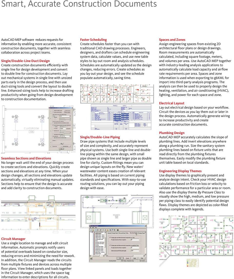 The Shorten AutoCAD the road solution for mechanical, electrical, to