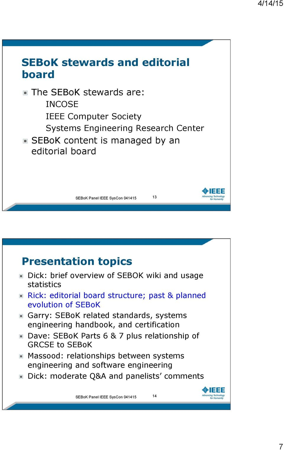 Sebok A Guide To The Systems Engineering Body Of Knowledge Pdf