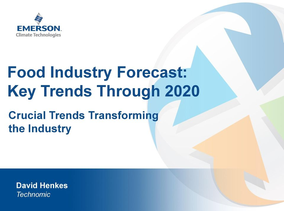 Food Industry Forecast: Key Trends Through PDF