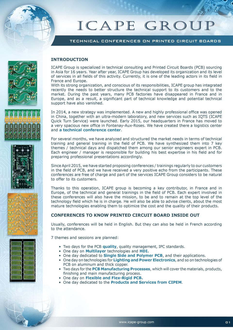 Technical Conferences On Printed Circuit Boards Pdf Image Custom Board Assembly Process Rohs Compliant With Its Strong Organization And Conscious Of Responsibilities Icape Group Has Integrated Recently
