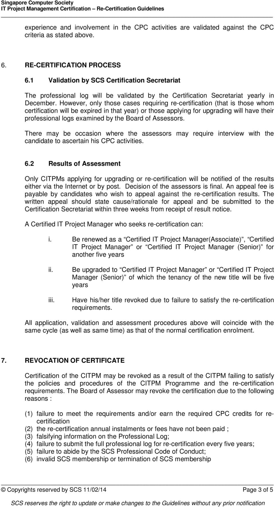 The Certified It Project Manager Programme Citpm Pdf