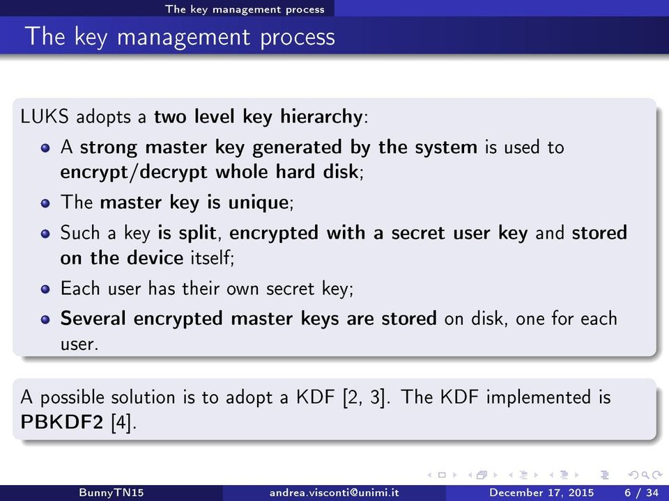 What users should know about Full Disk Encryption based on