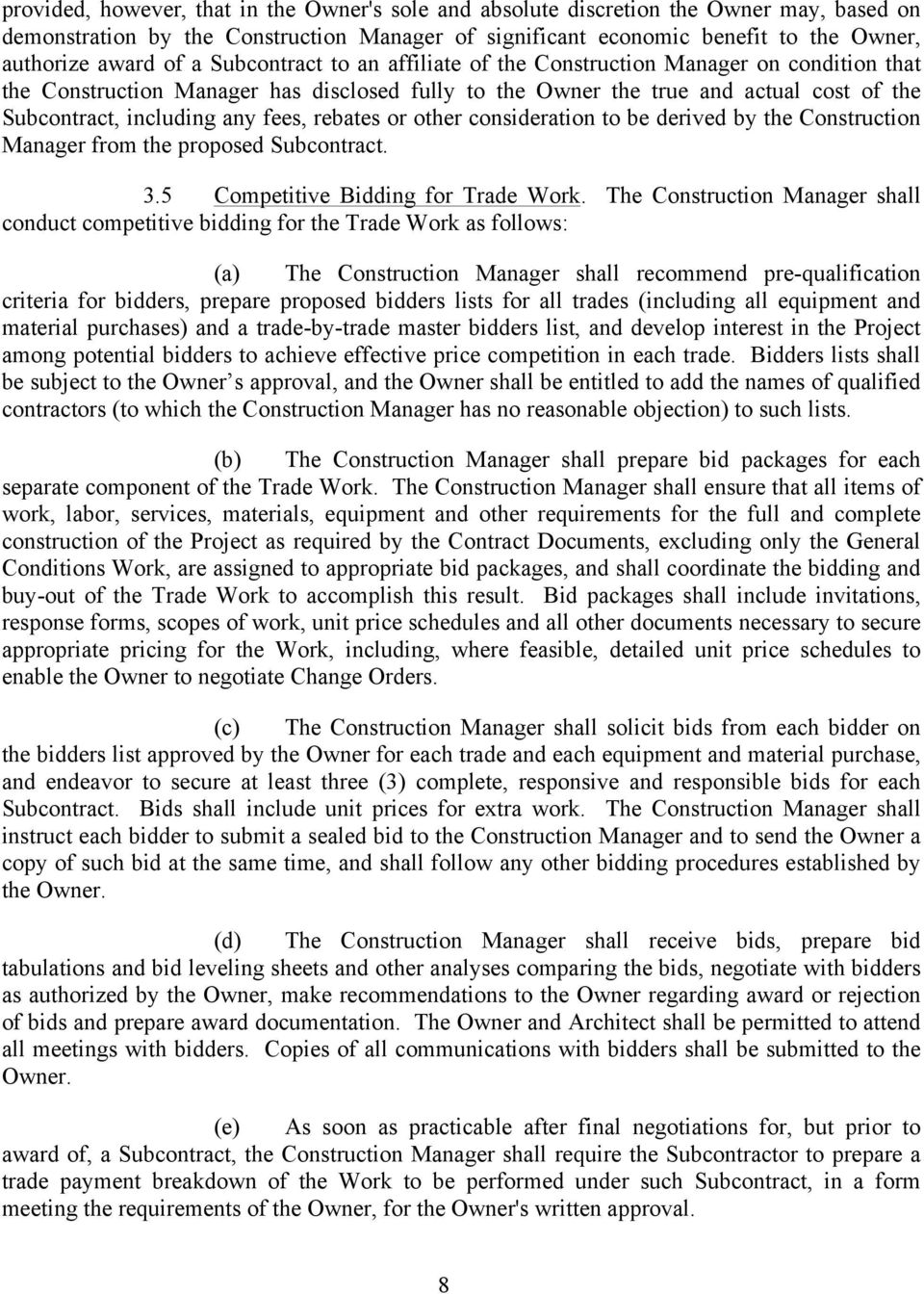 construction management agreement by and between nyu hospitals
