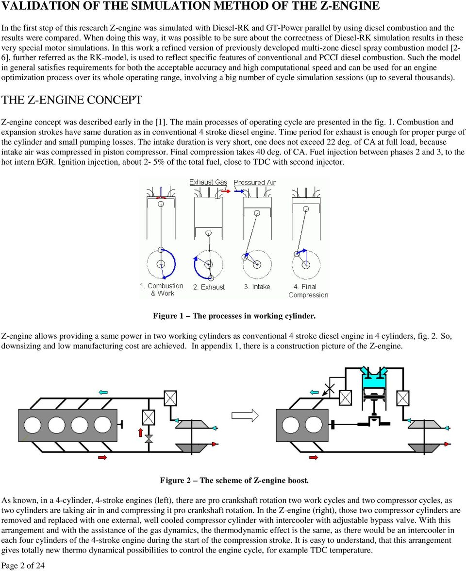 Hcci Combustion In The Z Engine Pdf Internal Diagram Of A Show How Works This Work Refined Version Previously Developed Multizone Diesel Spray Model 2