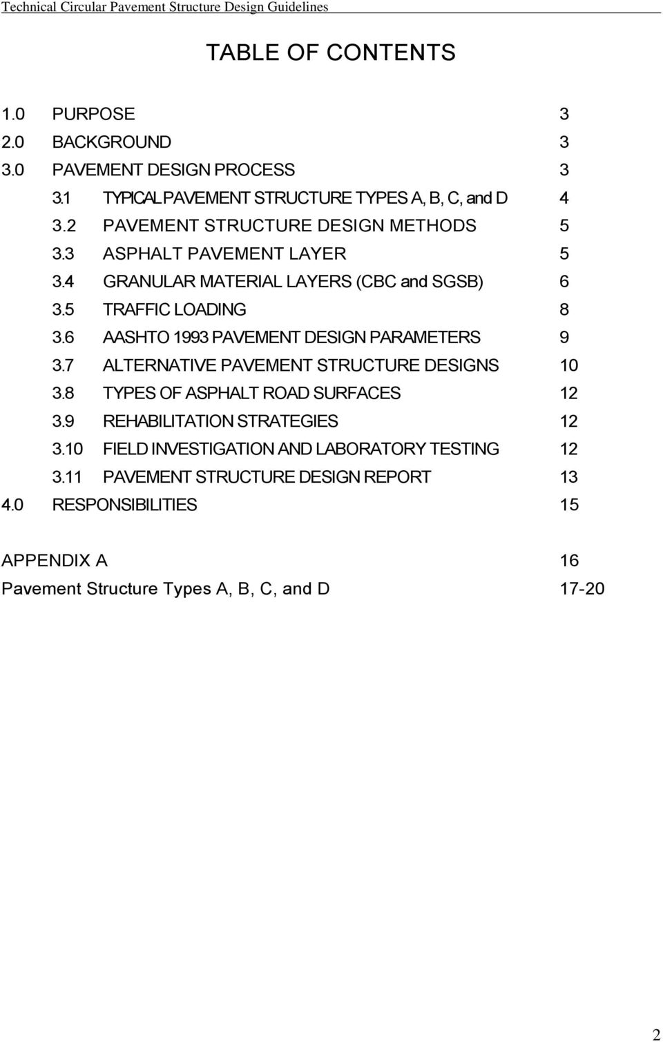 Pavement Structure Design Guidelines Pdf Free Download
