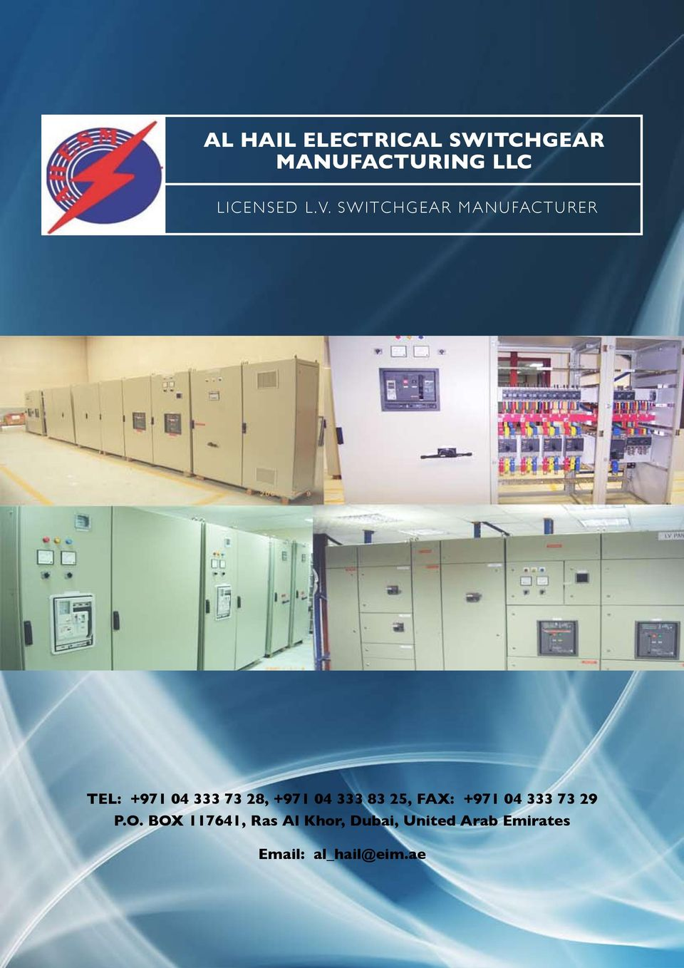 AL HAIL ELECTRICAL SWITCHGEAR MANUFACTURING LLC - PDF