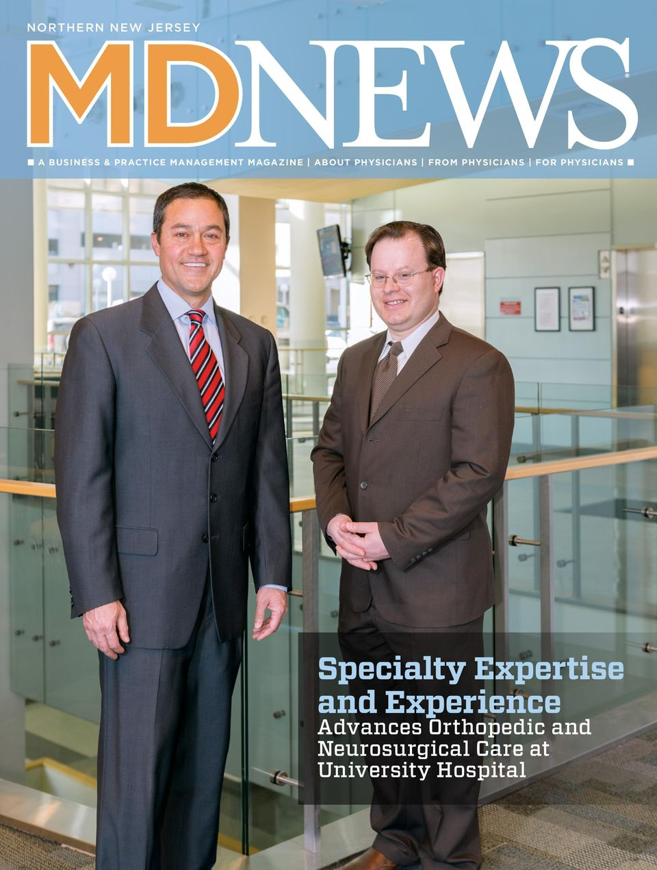 Specialty Expertise and Experience  Advances Orthopedic and