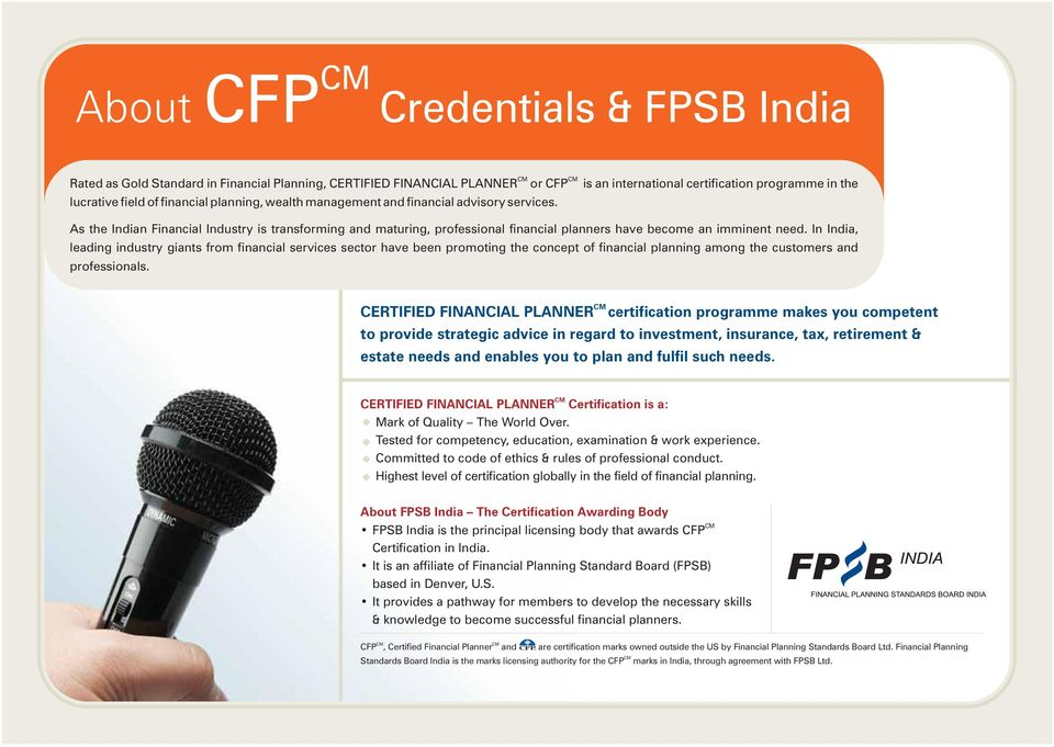 Our Expertise Stems From Our Experience In Financial Planning Pdf