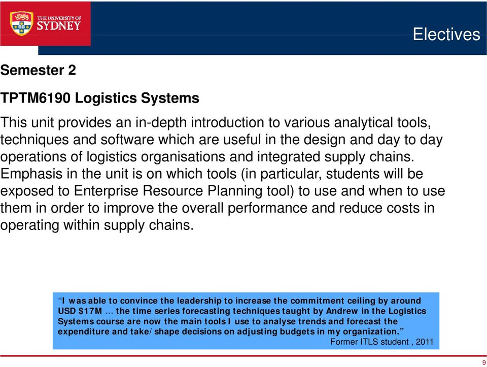 Logistics and Supply Chain Management Courses - PDF