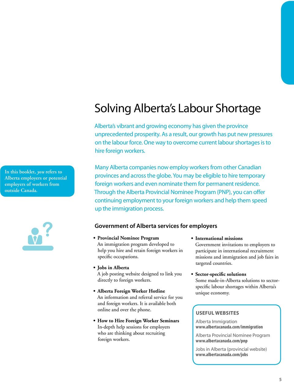 Hiring Foreign Workers in Alberta  Information for employers