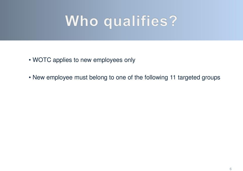 Work Opportunity Tax Credit Wotc Program Pdf