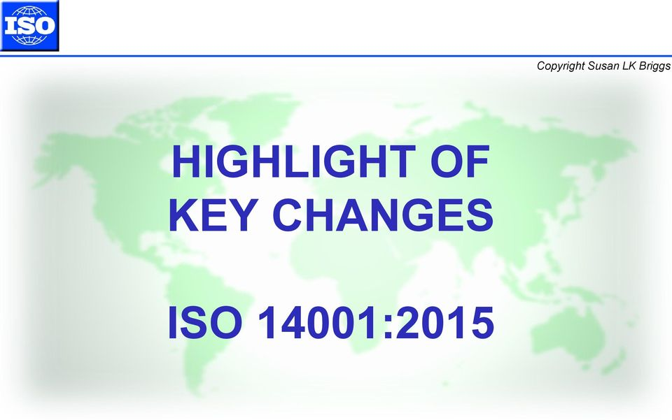 Iso 14001 Revision 2015 Pdf