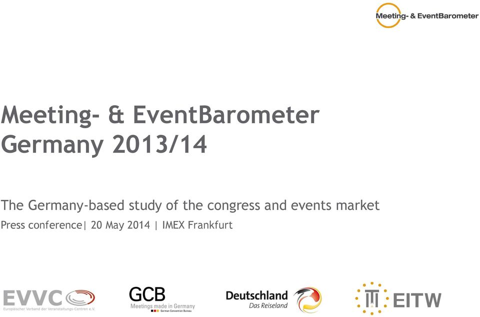 the congress and events market