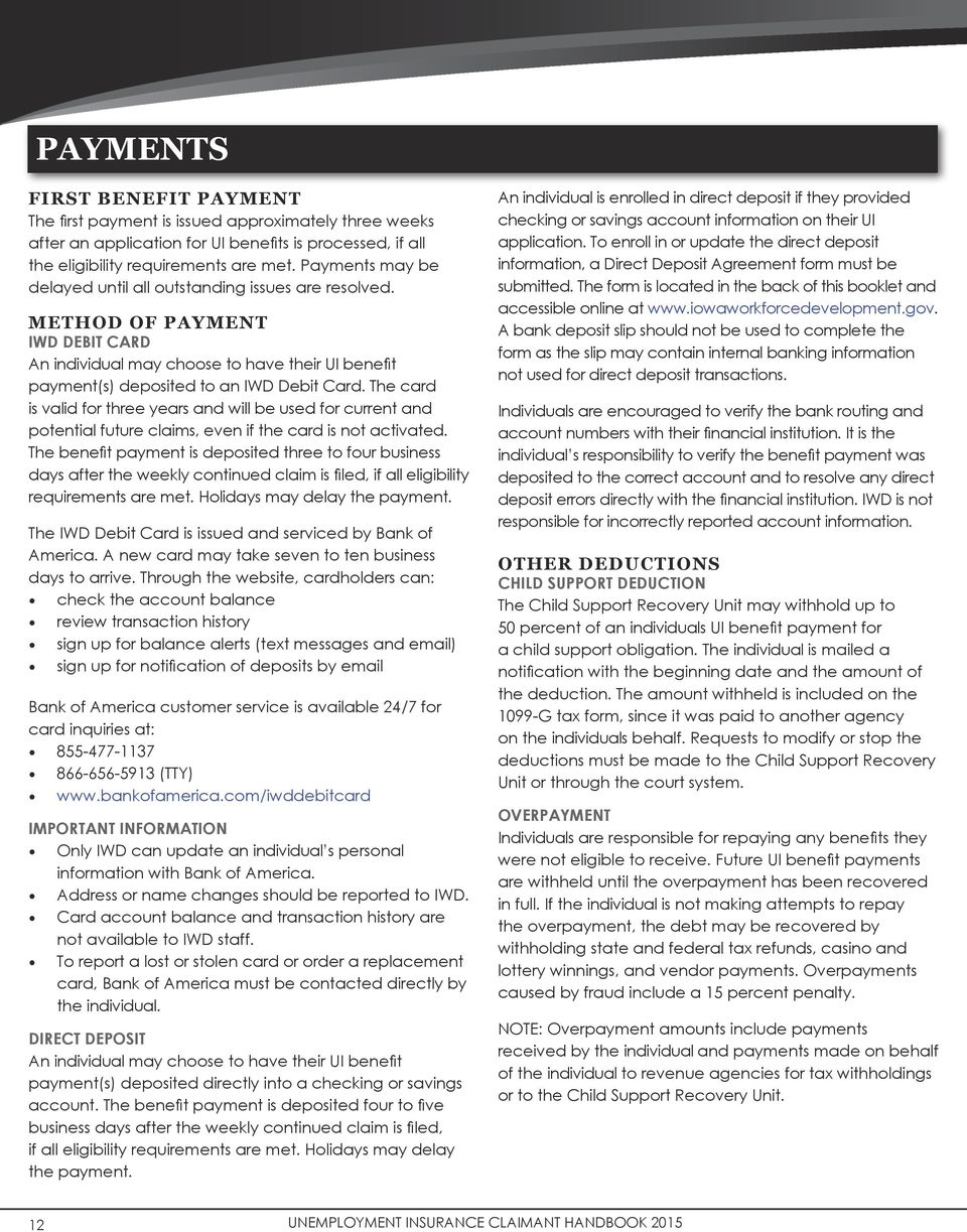 Unemployment Insurance Benefits Handbook Pdf