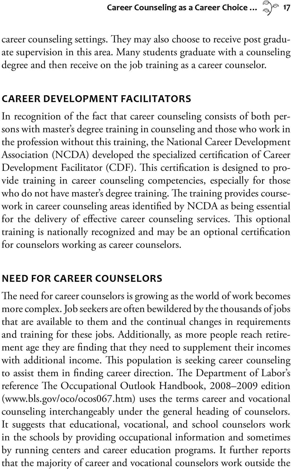 Careers In Counseling And Psychology Pdf