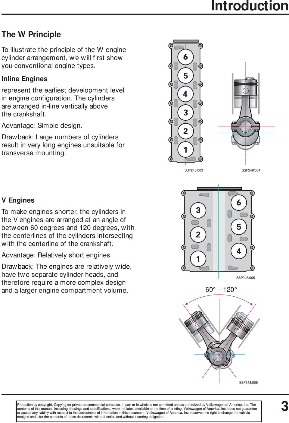 The W Engine Concept Self Study Program Course Number Pdf Cylinder Diagram Drawback Large Numbers Of Cylinders Result In Very Long Engines Unsuitable For Transverse Mounting