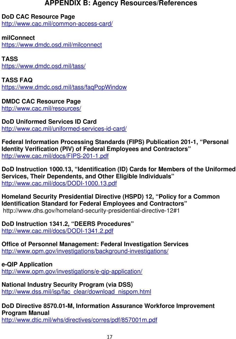 DEPARTMENT OF DEFENSE GUIDEBOOK FOR CAC-ELIGIBLE CONTRACTORS