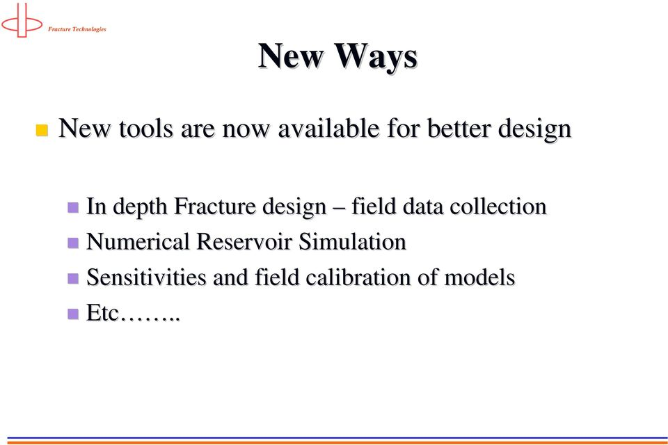 Fracture Technologies 9  Frac Candidate Selection - PDF