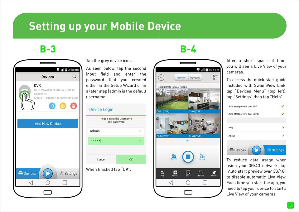 SwannView Link for Android - PDF