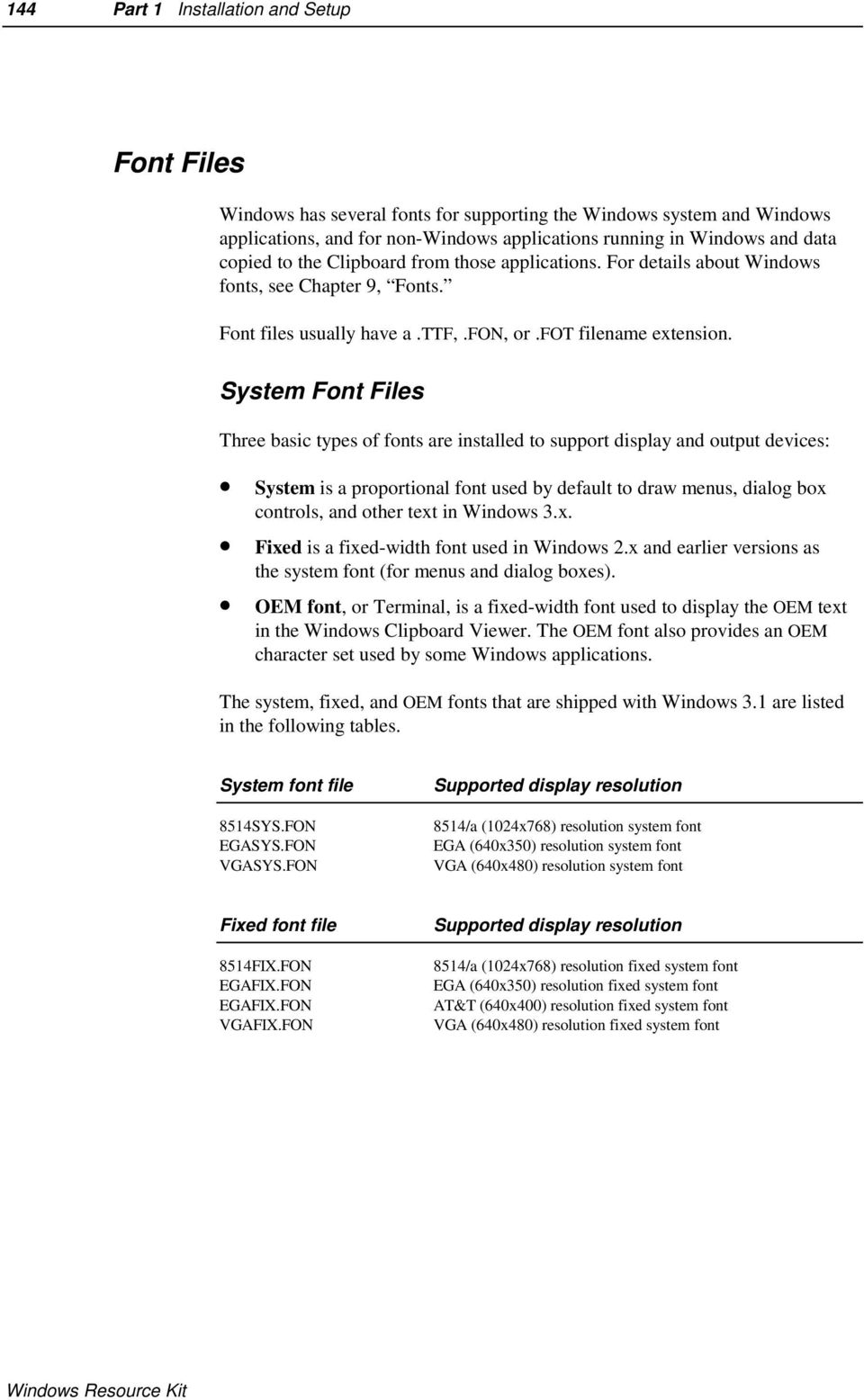 Chapter 3 The Windows Files - PDF