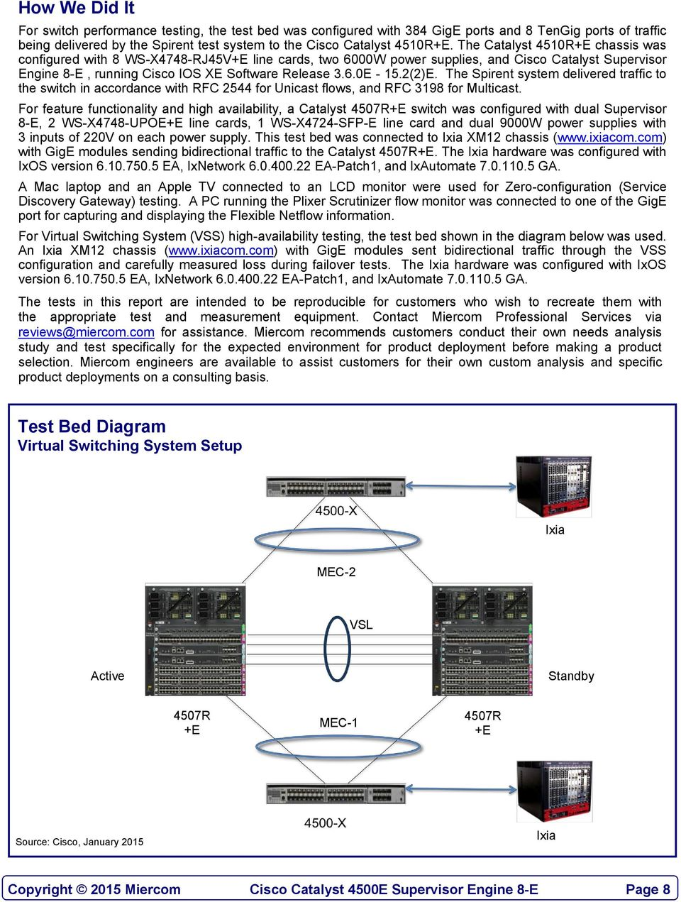Lab Testing Summary Report Pdf Macsec On Catalyst 3750x Series Switch Configuration Example Cisco 22e The Spirent System Delivered Traffic To In Accordance