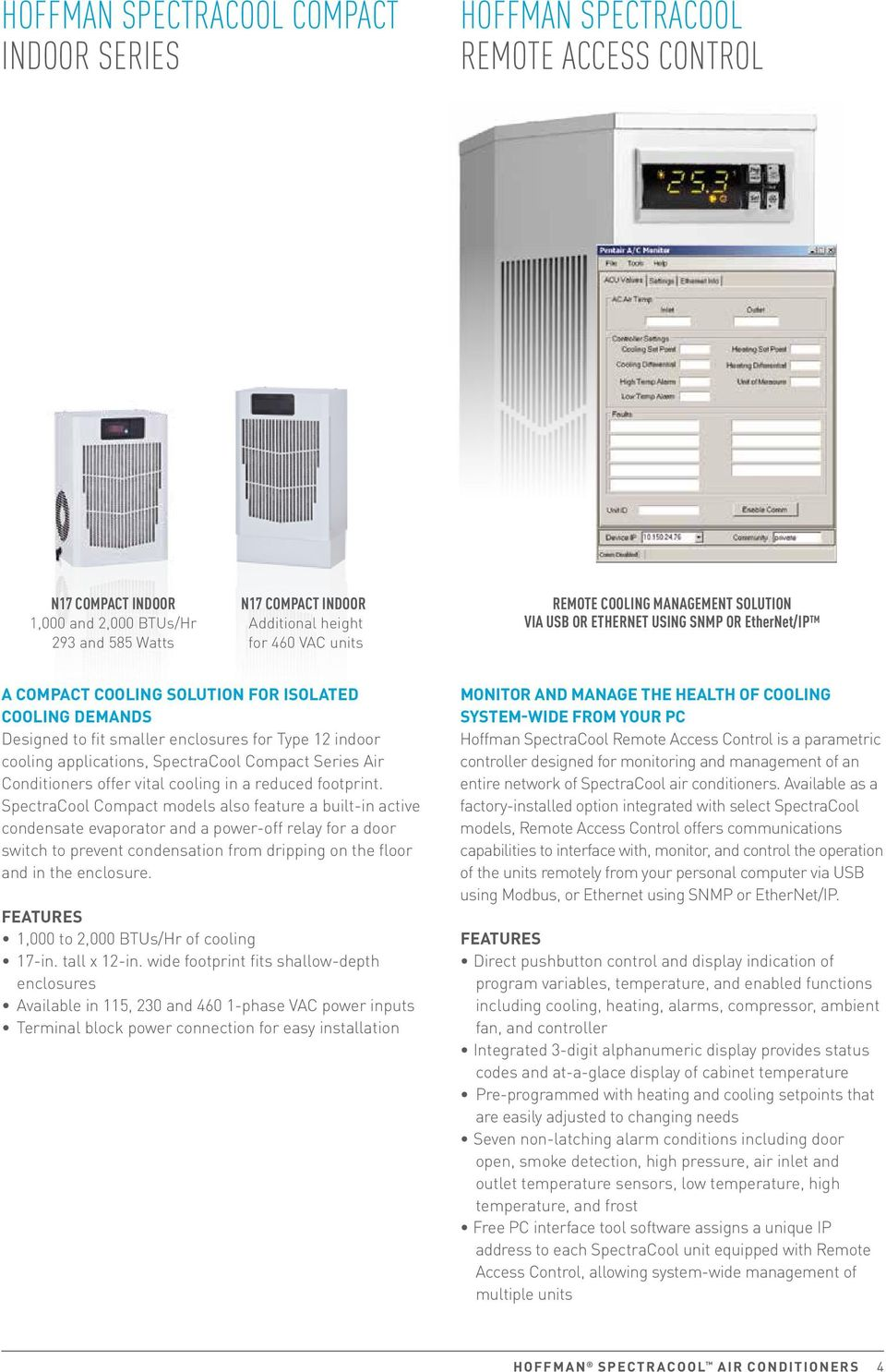 Spectracool air conditioners pentair equipment protection mclean is applications spectracool compact series air conditioners offer vital cooling in a reduced footprint publicscrutiny Image collections