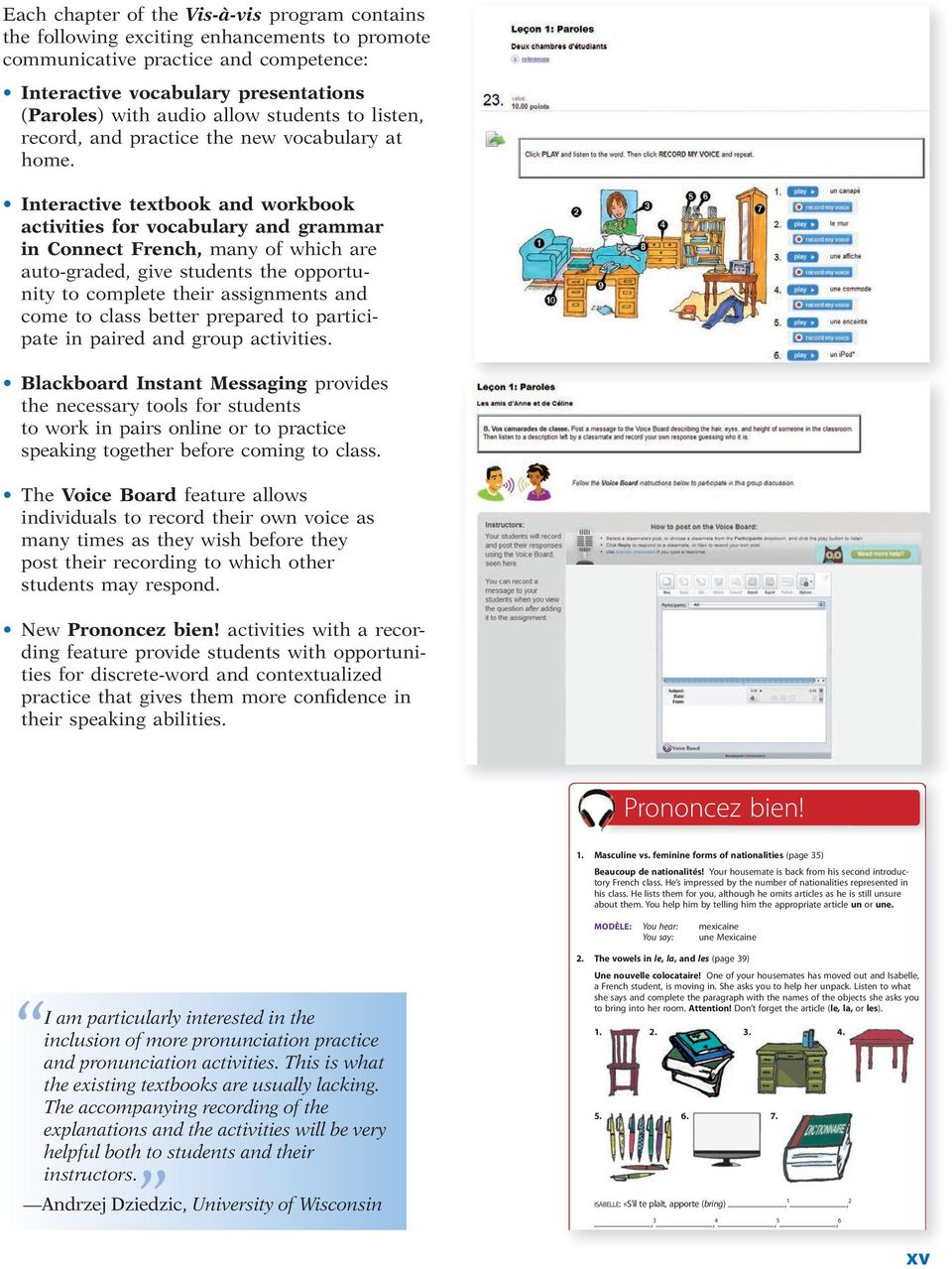Preface. McGraw-Hill Connect French and McGraw-Hill LearnSmart ...