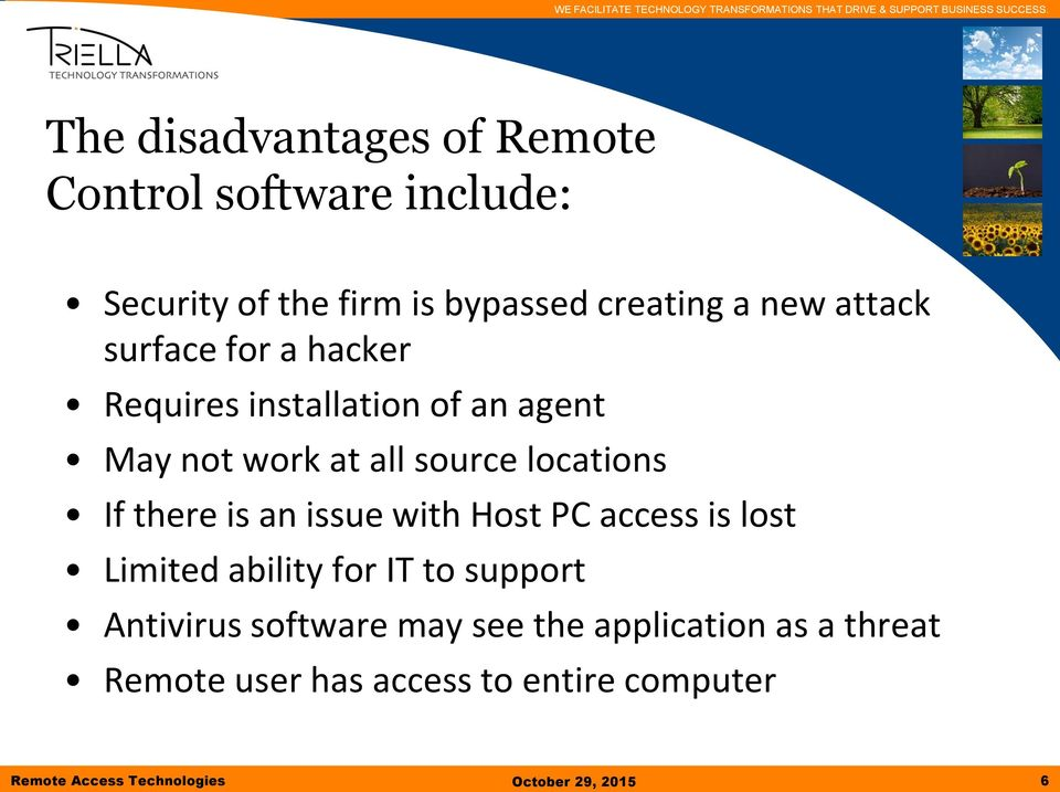 Working from Anywhere Exploring Remote Access Technologies - PDF