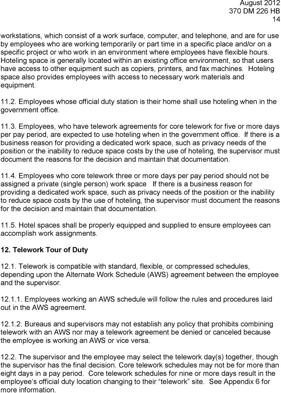 Telework handbook 370 dm 226 pdf hoteling space is generally located within an existing office environment so that users have access maxwellsz