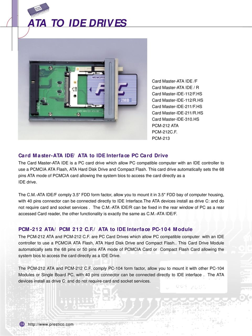 Ata To Ide Drives Card Master Interface Pc Notebook Cdrom Usb External Drive Circuit Board 3 Hs 112 Rhs