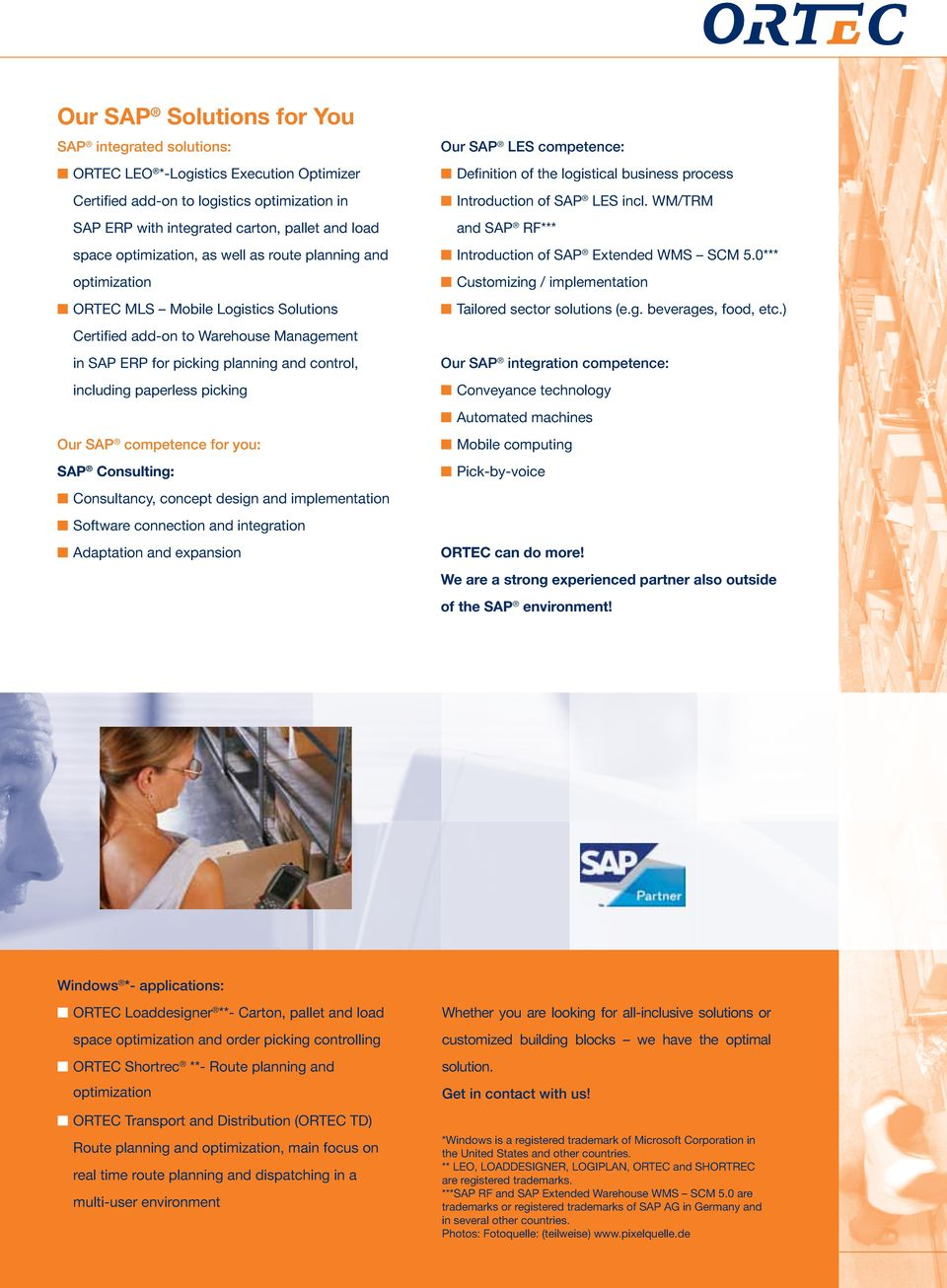 Warehouse Control and Picking System in SAP ERP ORTEC MLS