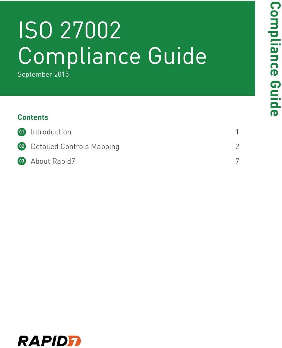 Compliance Guide 01 02 03