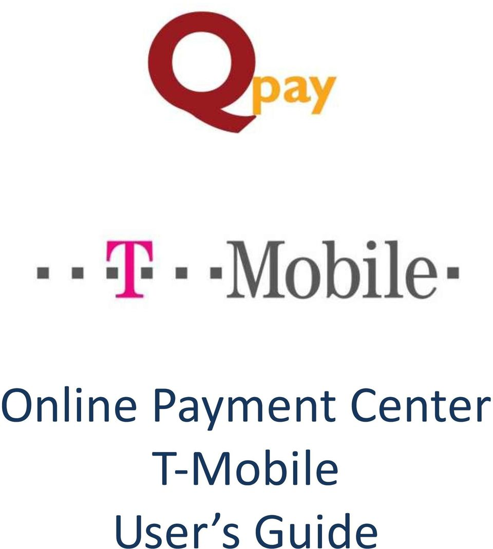 Online Payment Center T-Mobile User s Guide - PDF