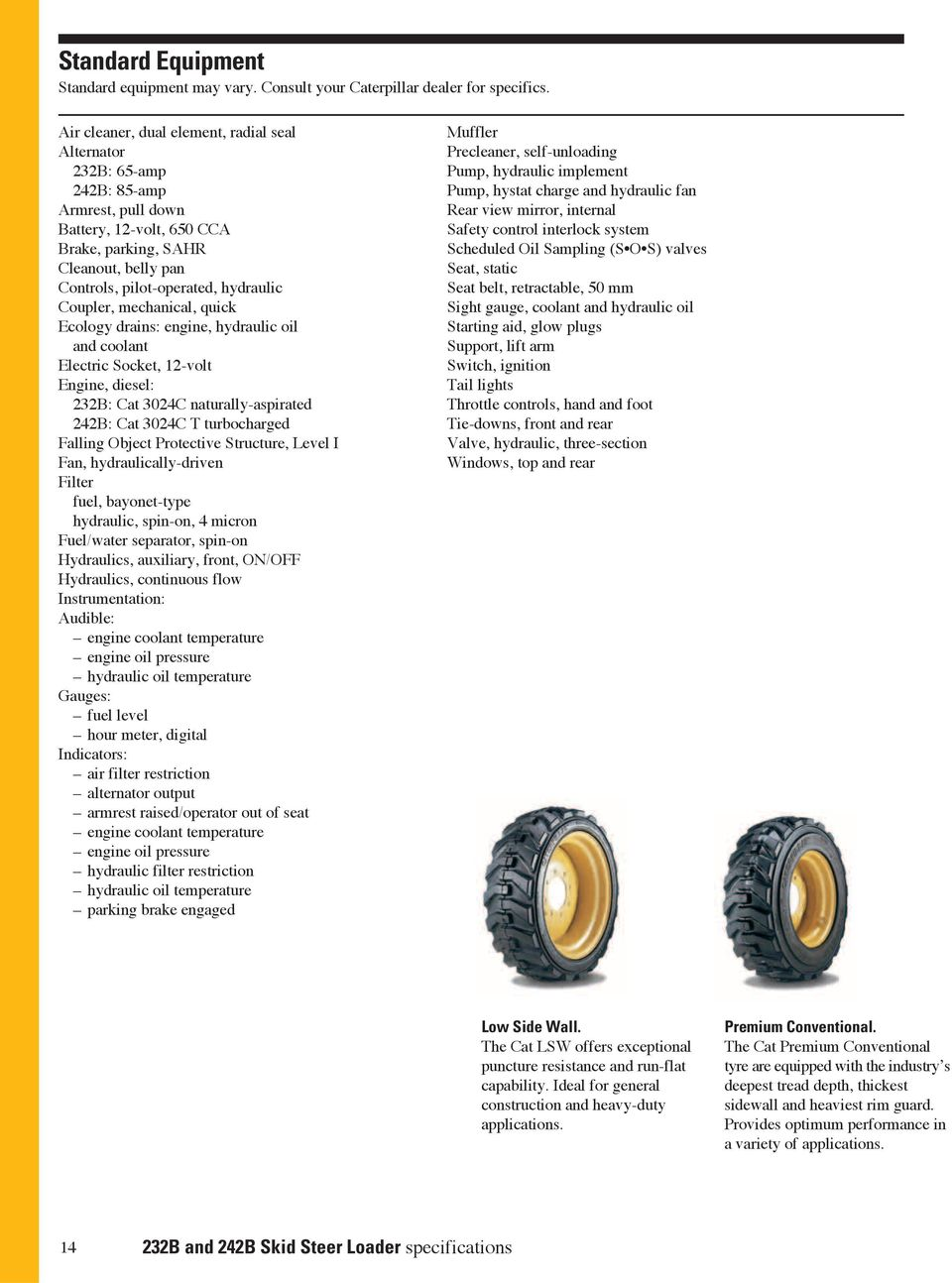 232B, 242B  Skid Steer Loaders - PDF
