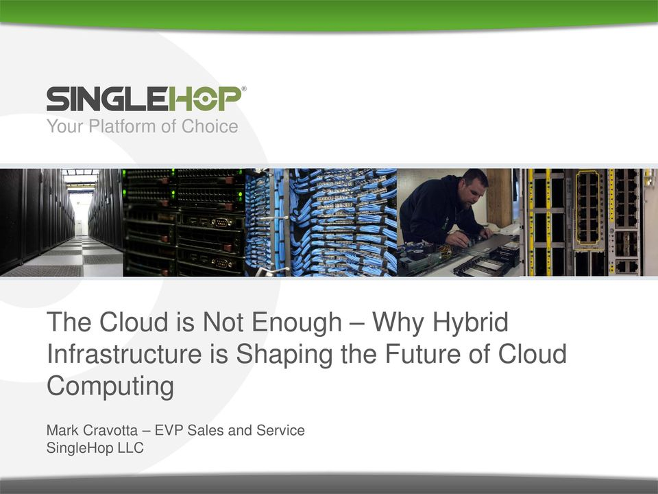 Shaping the Future of Cloud Computing