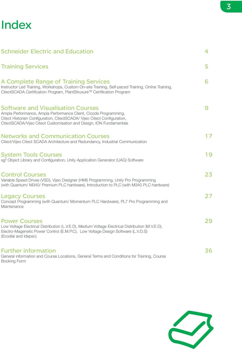 Schneider Electric South Africa  Training Services Guide - PDF
