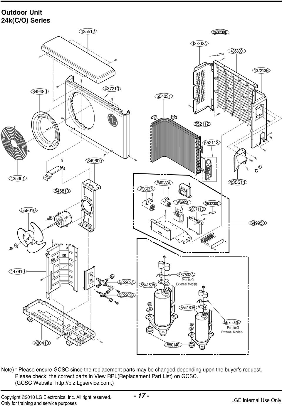 Lsu090ce Lg Air Conditioner Wiring Diagram Trusted Room Svc Manualexploded View Pdf