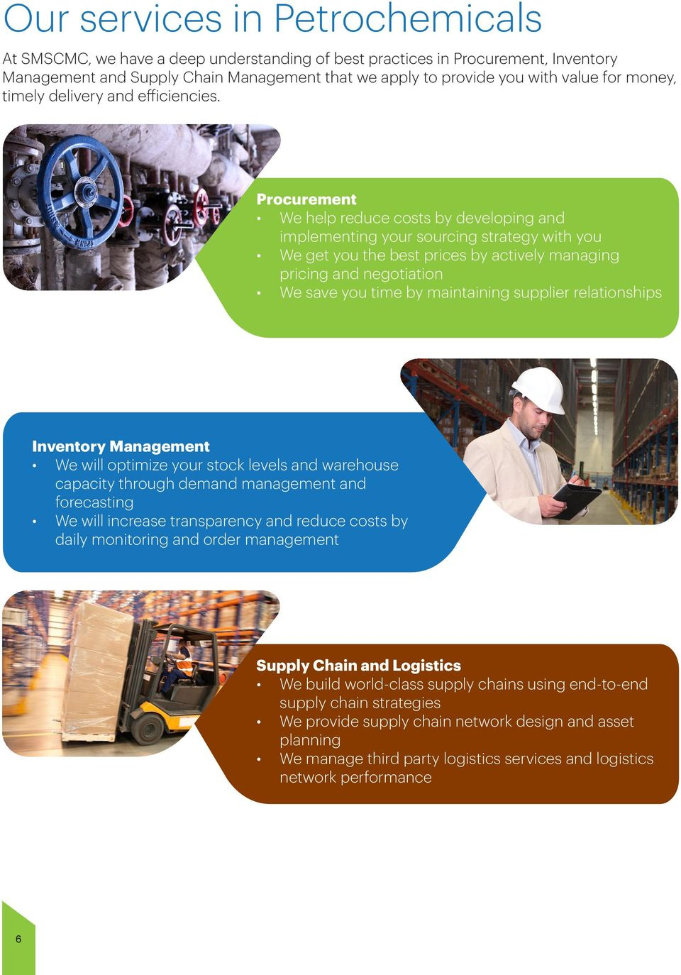 Procurement, Inventory Management and Supply Chain solutions