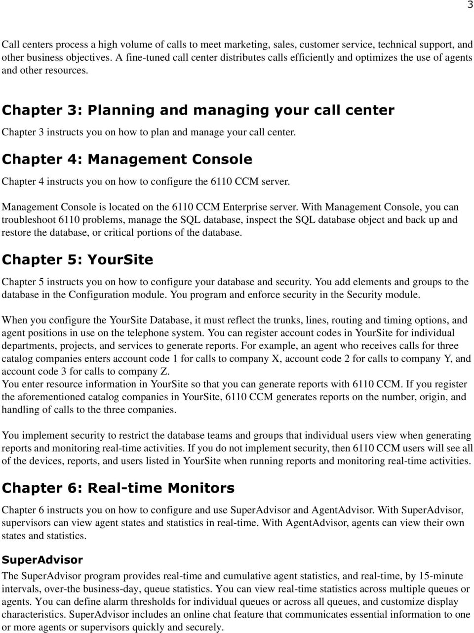 Chapter 1 prairiefyre Contact Center Solutions suite  About