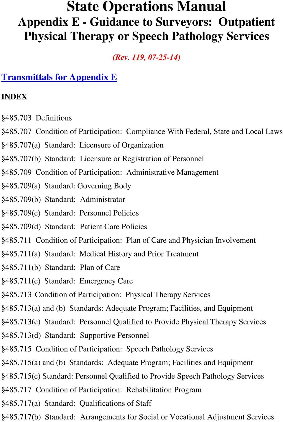 state operations manual appendix e guidance to surveyors rh docplayer net state operations manual appendix b cms state operations manual appendix b 2016