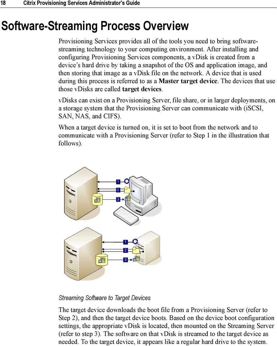 Citrix Provisioning Services Administrator s Guide Citrix