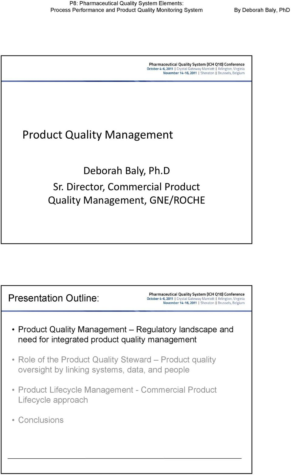 Product Quality Management - PDF