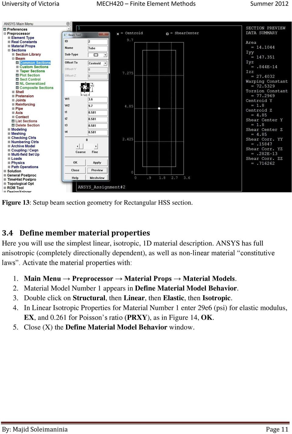 ansys tutorial pdf for mechanical engineering