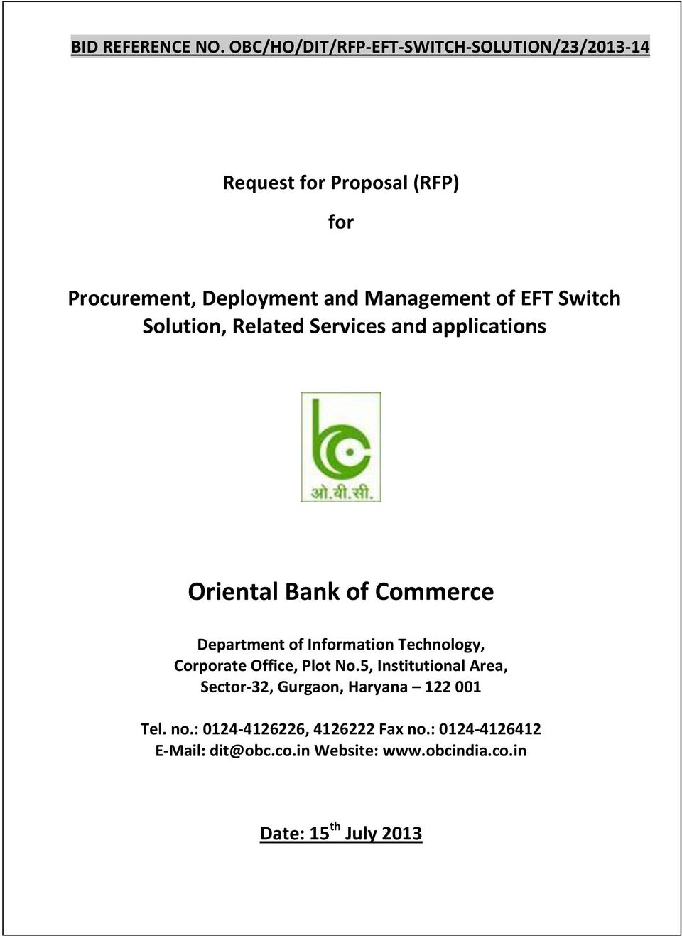 Oriental Bank of Commerce - PDF